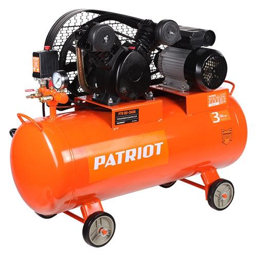 Компрессор поршневой PATRIOT PTR 80-260A масляный [525306311] цена 2017