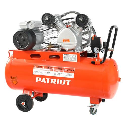 Компрессор поршневой PATRIOT PTR 80-450A масляный [525306312] цена 2017