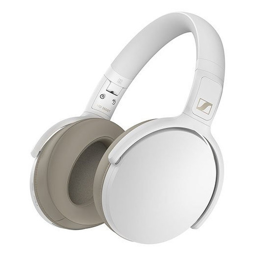 цена на Наушники SENNHEISER HD 350BT, Bluetooth/USB Type-C, мониторные, белый [508385]