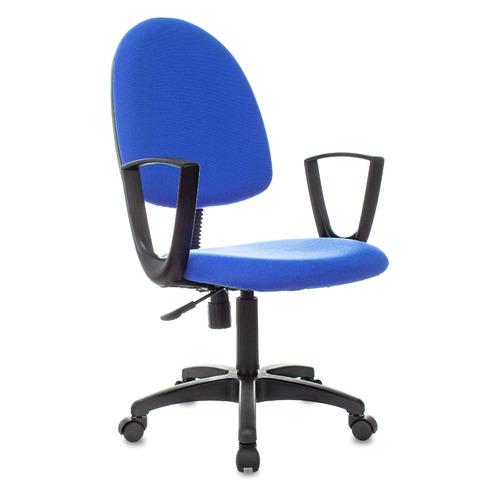 Кресло БЮРОКРАТ CH-1300N, на колесиках, ткань, синий [ch-1300n/3c06] офисное кресло бюрократ ch 1300n