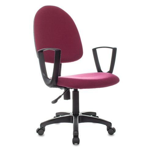 Кресло БЮРОКРАТ CH-1300N, на колесиках, ткань, бордовый [ch-1300n/3c18]
