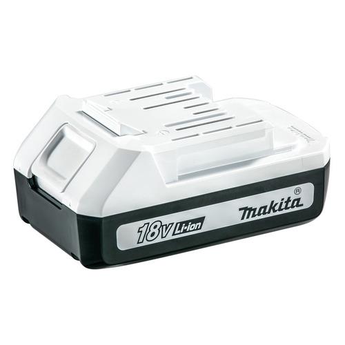 Батарея аккумуляторная Makita BL1815G 18В 1.5Ач Li-Ion (0088381475891) ножовка makita djr187rte 18в 2х5ачli ion 0 3000об м ход 32мм рез 255мм