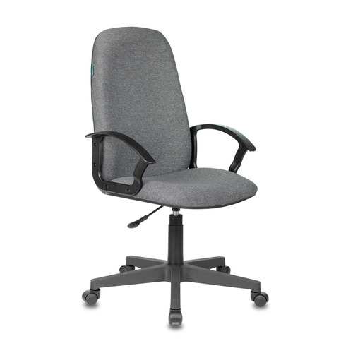 Кресло руководителя БЮРОКРАТ CH-808LT, на колесиках, ткань, серый [ch-808lt/#g] кресло руководителя бюрократ ch 808axsn на колесиках ткань темно серый [ch 808axsn g]