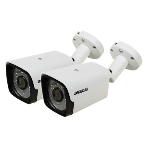 Комплект видеонаблюдения GINZZU HK-421N блок питания для камер видеонаблюдения ginzzu для питания 2 4 камер 12v 2 0a