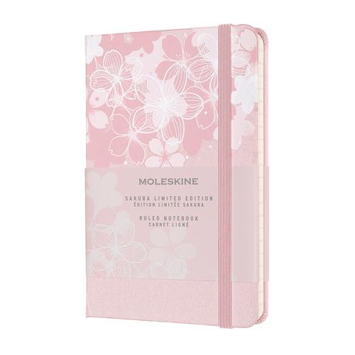 Блокнот MOLESKINE Limited Edition, 192стр, в линейку, темно-розовый [lesu03mm710] блокнот moleskine le sakura pocket 90x140мм обложка текстиль 192стр линейка темно розовый