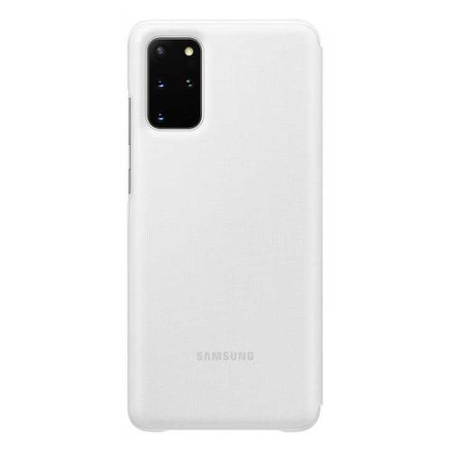 Чехол (флип-кейс) SAMSUNG Smart LED View Cover, для Samsung Galaxy S20+, белый [ef-ng985pwegru]