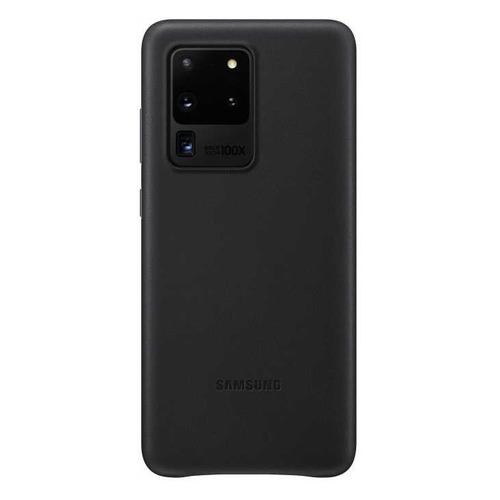Чехол (клип-кейс) SAMSUNG Leather Cover, для Samsung Galaxy S20 Ultra, черный [ef-vg988lbegru] чехол клип кейс samsung leather cover для samsung galaxy s20 ultra черный [ef vg988lbegru]