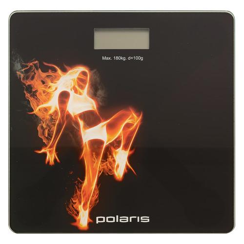 Напольные весы POLARIS PWS 1877DG, до 180кг, цвет: рисунок