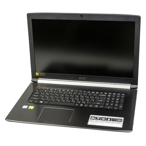 Ноутбук ACER Aspire 5 A517-51G-3353, 17.3, Intel Core i3 7020U 2.3ГГц, 8Гб, 512Гб SSD, nVidia GeForce Mx130 - 2048 Мб, Windows 10, NX.H9GER.008, черный ноутбук acer aspire a517 51g 810t nx gsxer 006