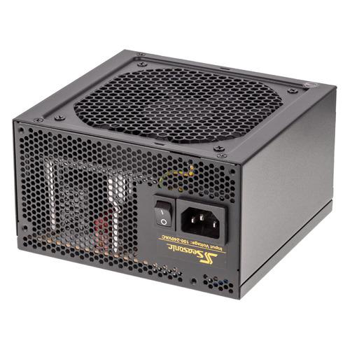 Блок питания SEASONIC CORE GC-500 (SSR-500LC), 500Вт, 120мм, черный блок питания atx 500 вт seasonic core gc 500 ssr 500lc