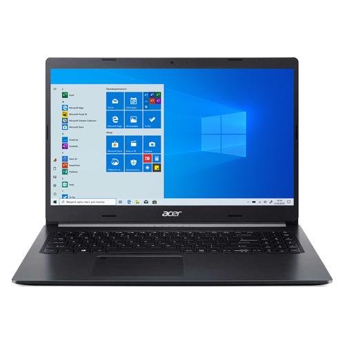 Ноутбук ACER Aspire 5 A515-55-35SW, 15.6, IPS, Intel Core i3 1005G1 1.2ГГц, 8ГБ, 256ГБ SSD, Intel UHD Graphics , Windows 10, NX.HSHER.00A, черный ноутбук acer aspire 3 a315 56 31tb 15 6 intel core i3 1005g1 1 2ггц 4гб 128гб ssd intel uhd graphics windows 10 nx hs5er 00n черный