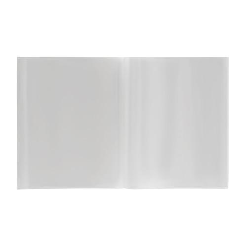 Упаковка обложек SILWERHOF 382163, для тетради/дневника, набор 10штшт, ПП, 50мкм, гладкая, прозрачная, 210x345мммм 10 шт./кор.