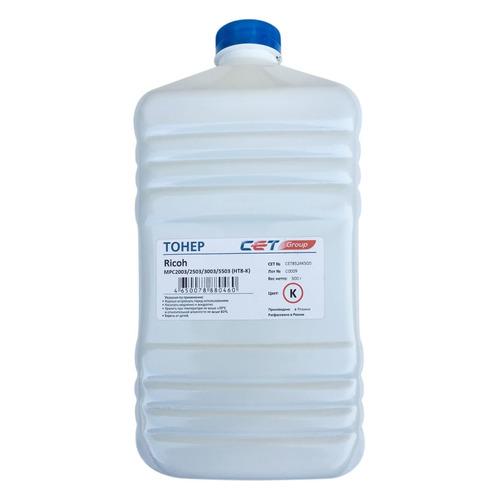 Тонер CET HT8-K, для RICOH MPC2003/2503/3003/5503, черный, 500грамм, бутылка 10x toner seal for use in ricoh mpc5503 mpc2003 mpc2011 mpc2503 mpc3003 mpc3503 mpc4503 mpc5503 mpc6003