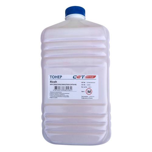 Тонер CET HT8-M, для RICOH MPC2003/2503/3003/5503, пурпурный, 500грамм, бутылка 10x toner seal for use in ricoh mpc5503 mpc2003 mpc2011 mpc2503 mpc3003 mpc3503 mpc4503 mpc5503 mpc6003