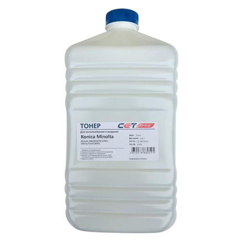 цены Тонер CET KB7, для KONICA MINOLTA Bizhub 360/420/421/601, DI551/5510, черный, 500грамм, бутылка