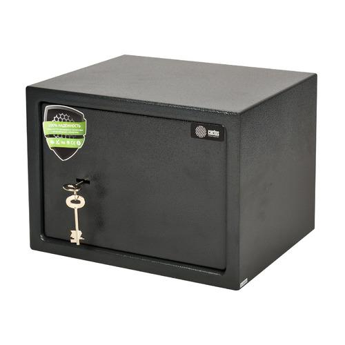 Сейф мебельный Cactus CS-SF-K25 250x350x250мм ключевой, графит, металл  - купить со скидкой