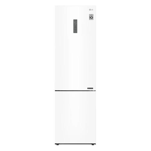 Холодильник LG GA-B509CQWL, двухкамерный, белый двухкамерный холодильник lg ga b 459 sqcl белый