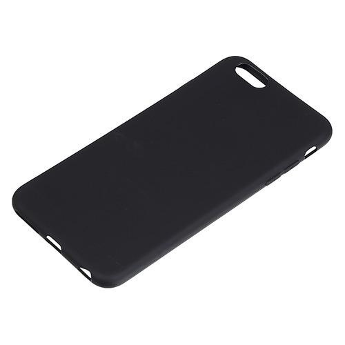 Чехол (клип-кейс) BORASCO для Apple iPhone 6 Plus/6S Plus, черный (матовый) [38558]