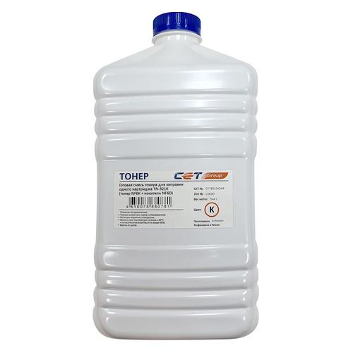 Тонер CET NF6K/NF6D, для Bizhub C224/284/364, черный, 544грамм, бутылка, девелопер bizhub 185