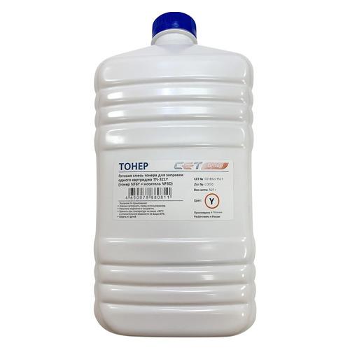 Тонер CET NF6Y/NF6D, для Bizhub C224/284/364, желтый, 527грамм, бутылка, девелопер bizhub 185