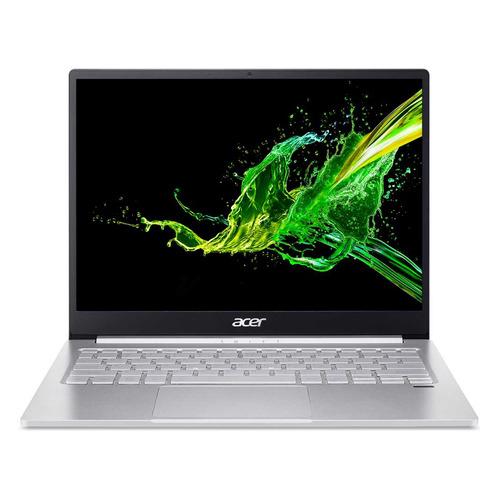 "Ультрабук ACER Swift 3 SF313-52G-53VU, 13.5"", IPS, Intel Core i5 1035G1 1.0ГГц, 8ГБ, 512ГБ SSD, NVIDIA GeForce MX350 - 2048 Мб, Windows 10, NX.HR0ER.002, серебристый"