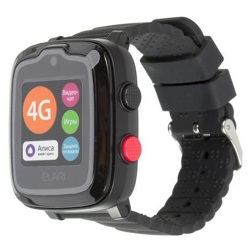 Смарт-часы ELARI KidPhone-4G, 1.3, черный / черный телефон elari nanophone