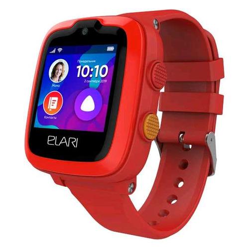 Смарт-часы ELARI KidPhone-4G, 1.3, красный / красный телефон elari nanophone