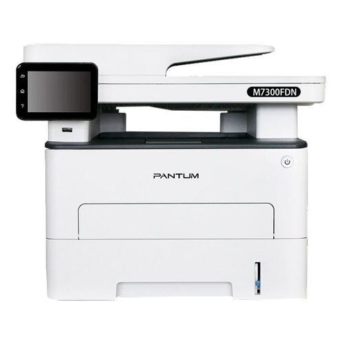 Фото - МФУ лазерный PANTUM M7300FDN, A4, лазерный, белый мфу лазерный pantum m6700d a4 лазерный серый