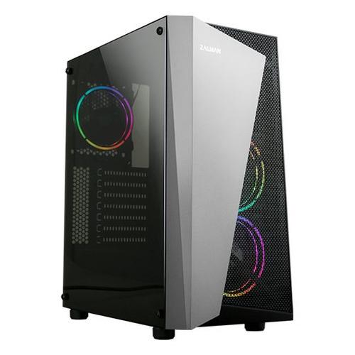 Корпус ATX Zalman S4 Plus, Midi-Tower, без БП, черный [s4 plus black] недорого