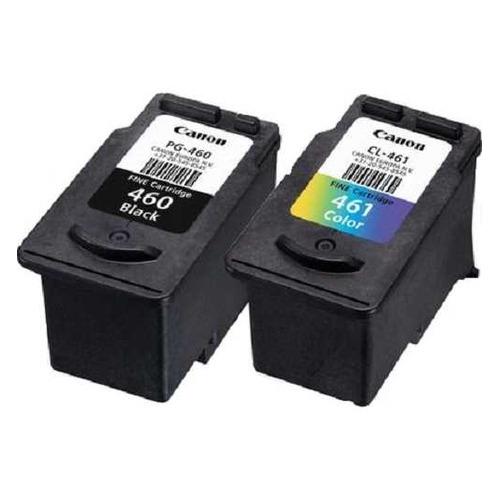 цена на Картридж CANON PG-460/CL-461, черный / трехцветный [3711c004]