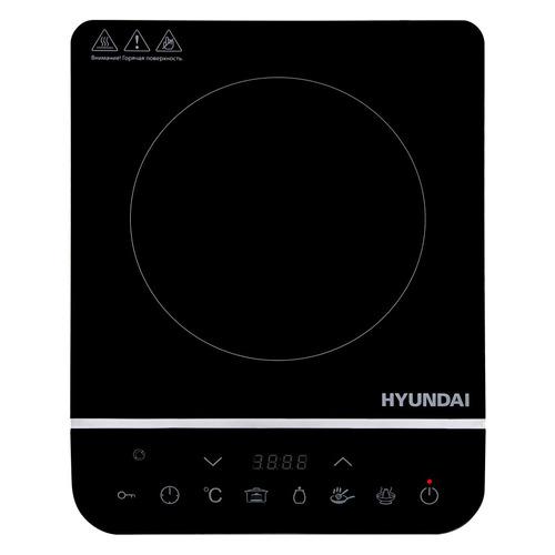 Плита Индукционная Hyundai HYC-0104 черный стеклокерамика (настольная)