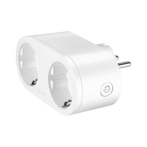Умная розетка Elari Smart Socket EU VDE Wi-Fi белый цена и фото