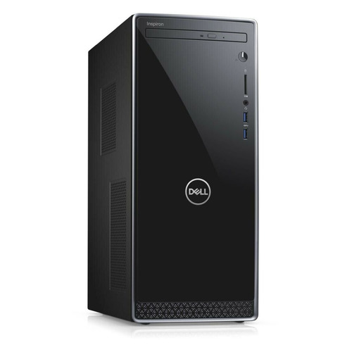 Компьютер DELL Inspiron 3671, Intel Core i5 9400, DDR4 8Гб, 1000Гб, 256Гб(SSD), NVIDIA GeForce GTX 1650 - 4096 Мб, DVD-RW, Windows 10, черный [3671-9201] цена и фото