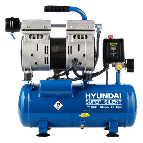 Фото - Компрессор поршневой HYUNDAI HYC 1406S безмасляный компрессор безмасляный hyundai hyc 3050s 50 л 2 квт