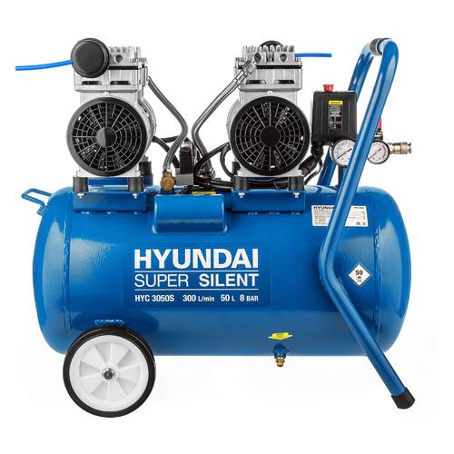 Фото - Компрессор поршневой HYUNDAI HYC 3050S безмасляный компрессор безмасляный hyundai hyc 3050s 50 л 2 квт