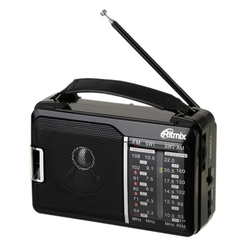 Радиоприемник RITMIX RPR-190, черный цена и фото