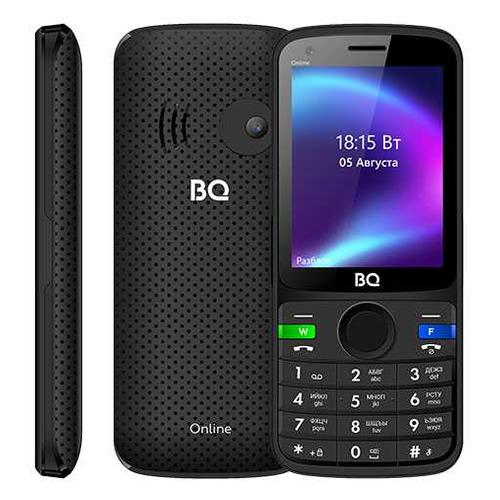 Мобильный телефон BQ Online 2800G, черный мобильный телефон bq мюнхен