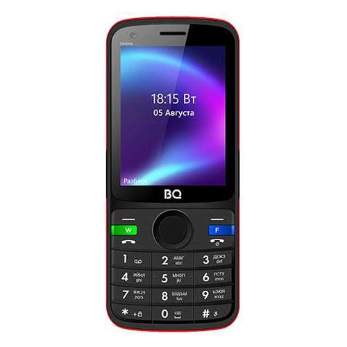 Мобильный телефон BQ Online 2800G, черный/красный
