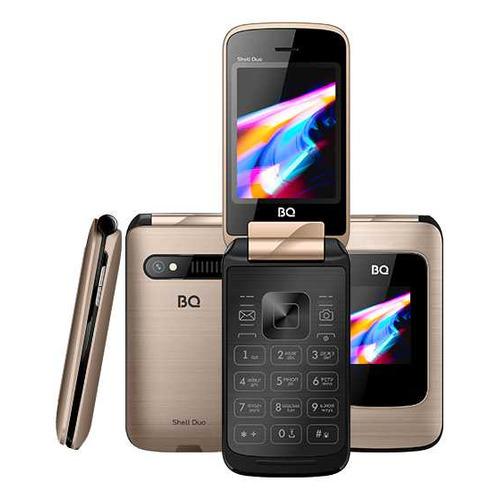 Сотовый телефон BQ Shell Duo 2814, золотистый мобильный телефон bq 2814 shell duo gold