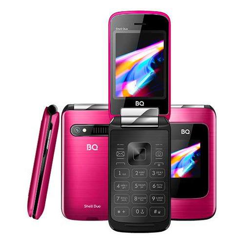 Сотовый телефон BQ Shell Duo 2814, розовый мобильный телефон bq 2814 shell duo gold