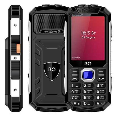 Сотовый телефон BQ Tank Quattro Power 2817, черный мобильный телефон bq bq 2812 quattro power black