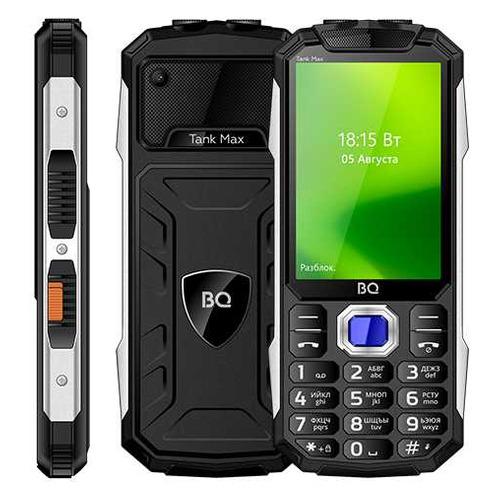 Мобильный телефон BQ Tank Max 3586, черный