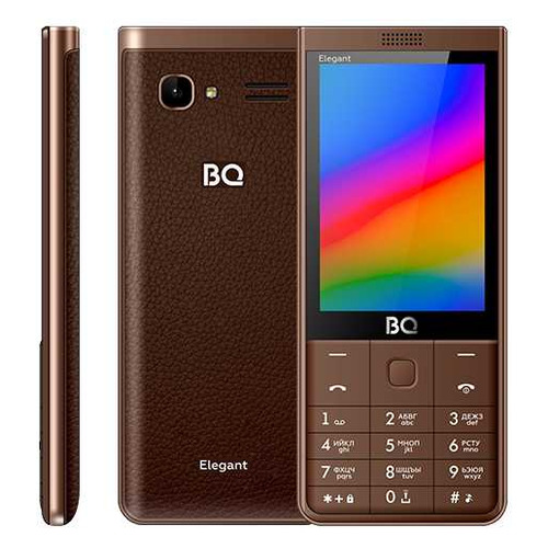Мобильный телефон BQ Elegant 3595, коричневый
