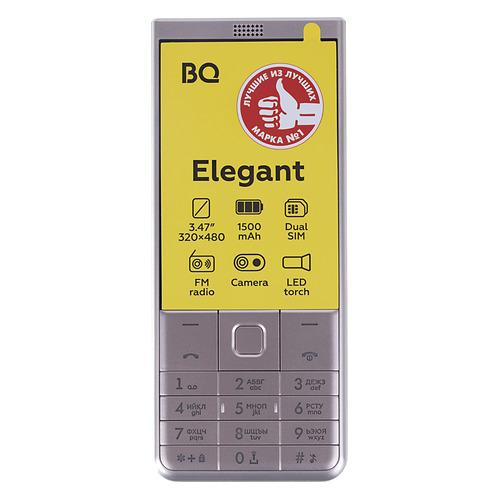 Мобильный телефон BQ Elegant 3595, золотистый