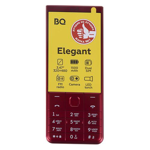 Мобильный телефон BQ Elegant 3595, красный
