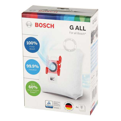 Пылесборники BOSCH BBZ41FGALL, универсальные, 4 шт., для пылесосов Bosch, один микрофильтр