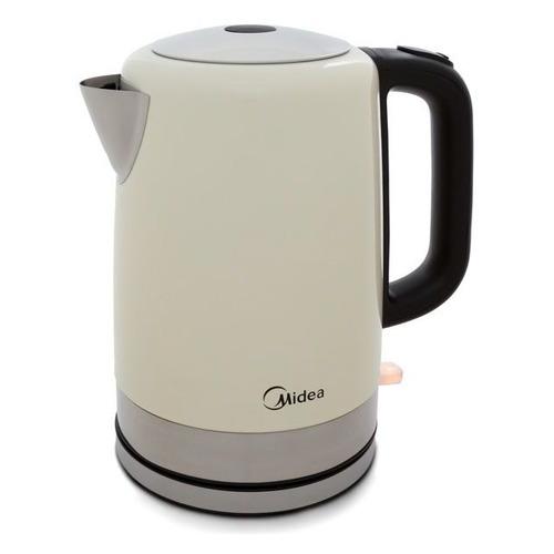 Чайник электрический MIDEA MK-8055, 2200Вт, сливовый и серебристый чайник электрический midea mk 8060 2200вт темно фиолетовый