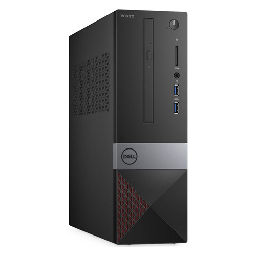 Компьютер DELL Vostro 3471, Intel Pentium Gold G5420, DDR4 4Гб, 1000Гб, Intel UHD Graphics 630, DVD-RW, CR, Windows 10 Home, черный [3471-9140] компьютер