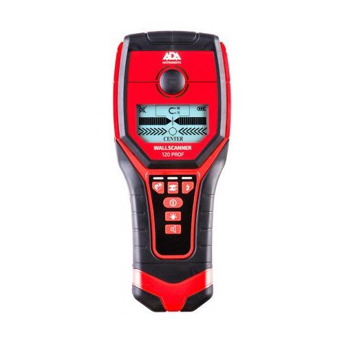 Детектор проводки ADA Wall Scanner 120 PROF [a00485]
