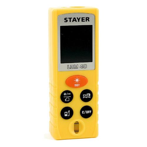 цена на Лазерный дальномер STAYER LDM-40 [34956]